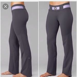 Lululemon Belt Loop Full Length Straight Leg Pant
